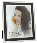 "Diamond Crush Photo Picture Frame Black 10 x 8"" Photograph Gift"